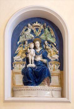 Madonna con Bambino di Giovanni della Robbia (XVI-XVII sec)