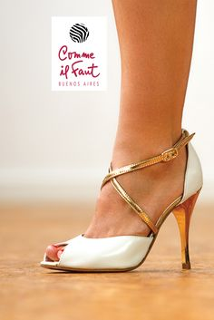 Stunning and Exquisite Tango Dancing Shoes ... Visit all latest Comme Il Faut collections at www.lisadore.com