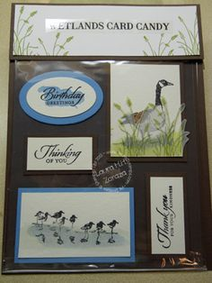 Wetlands Card Candy by stampinggoose - Cards and Paper Crafts at Splitcoaststampers