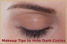 5 Top #Makeup tips and tricks for #concealing #under-eye circles