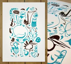 Poster birds