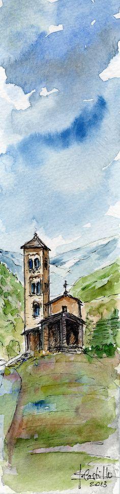 S.Joan de Caselles -Canillo Principado de Andorra
