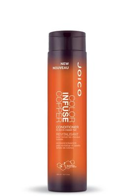 Joico color infuse copper conditioner 10.1 oz To revive copper hair There's nothing like spicy ginger to heat up a hairstyle; but those seductively fiery 'dos are known to fade a tad fast for our