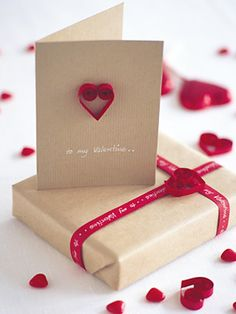 Pretty Valentines Day Gift Wrapping Ideas...