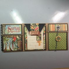 Learn how to create this mini album using one sheet of 12 x 12 card stock as your base. Mini Scrapbook Albums, Scrapbook Sketches, Scrapbook Paper Crafts, Scrapbooking Layouts, Paper Crafting, Fun Fold Cards, Folded Cards, New Project Ideas, Diy Crafts For Girls
