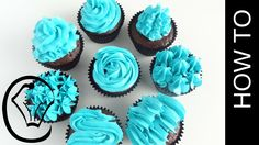 How To Use 1M Piping Tip 8 Ways by Cupcake Savvy's Kitchen - YouTube