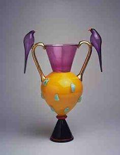 Dimitri Michaelides 1992 Blown glass: