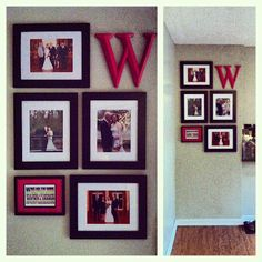 Picture Frame Wall Layout