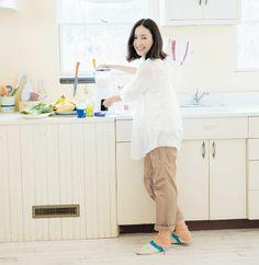 【NEW】麻生久美子さんの夏のふだん着。- STYLE LOOK