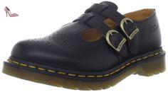 Dr.Martens Womens 8065 Mary Jane Black Leather Shoes 38 EU - Chaussures dr martens (*Partner-Link)