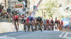 Arnaud Demarre on his way to winning Milan-San Remo