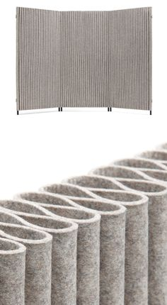 Office Furniture Wave, the felt room divider by HEY-SIGN - On display at Orgatec 2014 Fabric Room Dividers, Hanging Room Dividers, Sliding Room Dividers, Space Dividers, Office Dividers, Bamboo Room Divider, Room Divider Walls, Room Divider Screen, Office Furniture