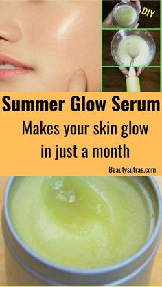 Summer Glow Serum for a Fresh and Glowing skin skin face skin no makeup skin requires commitment skin secrets skin tips Beauty Tips For Skin, Skin Tips, Beauty Skin, Beauty Care, Face Beauty, Summer Skin Care Tips, Beauty Hacks, Skin Secrets, Beauty Secrets