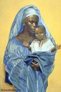 Nossa Senhora,  Mãe da África