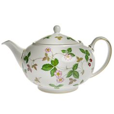 Wedgwood (WEDGWOOD) Wild Strawberry Teapot [L]