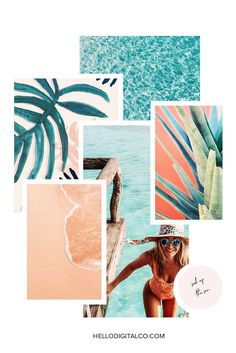 FREE Moodboard template with purchase of our Sunray Squarespace Template kit! Check out our NEW Sunray Squarespace Template and build you dream website today. Blog Design, Web Design, Design Layouts, Summer Aesthetic, Brainstorm, Brand Board, Branding Design, Design Inspiration, Moodboard Inspiration