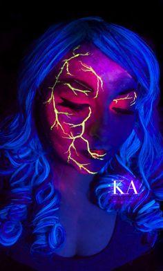 714 Best Black Light Amp Uv Paint Images On Pinterest In