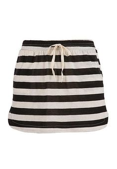 Pull on striped skirt (original price, $29) available at #Maurices
