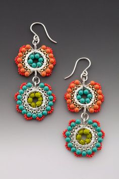 Lustre Dangle boucles d'oreilles de Bloom au par octaviabloom, $110.00