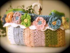 MURIEL'S CROCHET: MY FLOWERED BAG