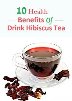Top 10 Health Benefits of Drink Hibiscus Tea