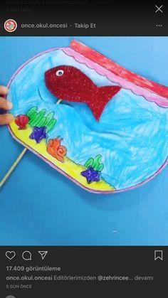 Summer Crafts For Kids, Paper Crafts For Kids, Spring Crafts, Diy For Kids, Kids Crafts, Toddler Activities, Preschool Activities, Ocean Crafts, Animal Crafts
