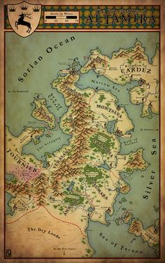 272 Best Fantasy Maps images in 2019