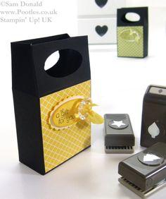 POOTLES Stampin Up UK Mini Gift Bag Box 4