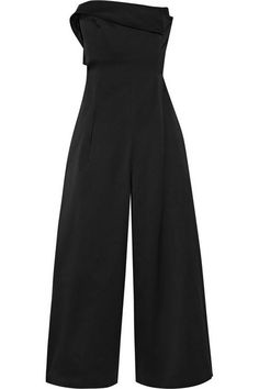 Monse silk and cotton wide leg jumpsuit