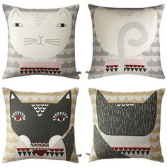 on my wishlist: cushions from Donna Wilson