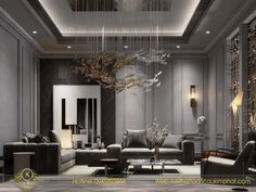 Classy Living Room, Living Room Colors, Living Room Designs, Drawing Room Ceiling Design, Luxury Homes Exterior, Neoclassical Interior, Bungalow House Design, Floor Design, Ground Floor