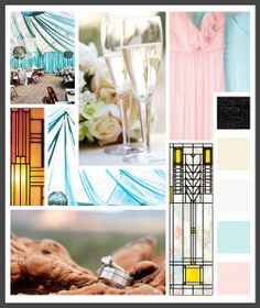 Lizzy B Loves visual + sparkle = inspiration : sedona/frank lloyd wright - muted (click on image to view larger) #wedding_inspiration #wedding_color_palette #color_palette_inspiration