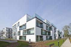 Warsaw, Condominium, Multi Story Building, Environment, House, Apartments, Buildings, Urban, Home