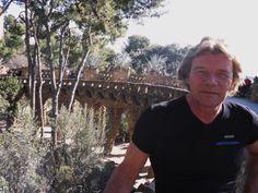 Jan Donders at Parc Guell Dutch Gaudi