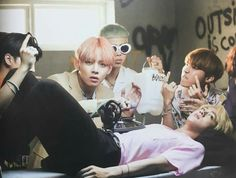 Jin's face is priceless