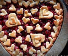 Walentynkowa tarta z wiśniami sweetanica
