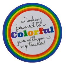 Get your free printable gift tag for your colorful back to school teacher gift.