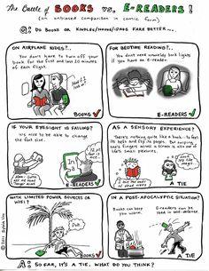 Books v. e-Readers