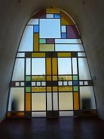 All around our farms there are stained glasses