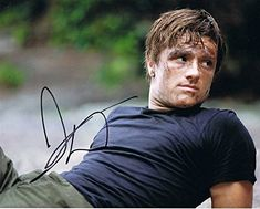 JOSH HUTCHERSON - The Hunger Games AUTOGRAPH Signed 8x10 Photo C @ niftywarehouse.com