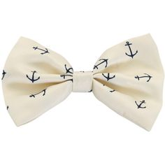 LOVEsick Anchor Hair Bow | Hot Topic - Polyvore