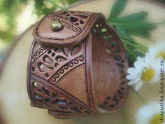 Купить Браслет кожаный Сновидение - бежевый, браслет, купить браслет, браслет купить, подарок, подарки
