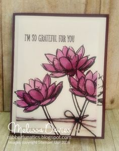 Stampin' Up! Remarkable You by Melissa Davies @rubberfunatics #rubberfunatics #stampinup #remarkableyou