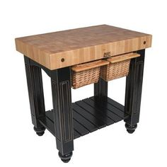Awesome Kitchen Prep Table butcher Block