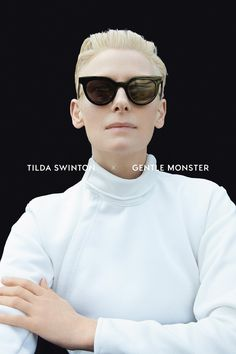 Gentle Monster, in partnership with Tilda Swinton, proudly presents an exclusive collection which celebrates creative élan and independent spirit. Tildas directional influence inspired and guided both the designs and the visual concepts of Gentle Monsters latest happy collaboration.