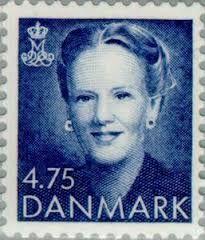 Denmark Stamp - Queen Margrethe II