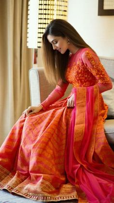 Designer dresses indian, Dresses, Saree dress, Indian designer outfits, Indian d… - TheTellMeWhy Lehenga Designs, Kurta Designs, Indian Attire, Indian Outfits, Indian Wear, Indian Wedding Outfits, Indian Designer Outfits, Designer Dresses, Stylish Dresses