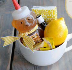 get well soon gift basket | such a cute idea