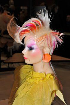 mannequin competition shots. Avant Garde Hair