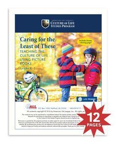 Caring for the Least of These (Digital Download) – Culture of Life Studies